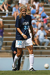 30 August 2009: North Carolina's Kristi Eveland. The University of North Carolina Tar Heels defeated the University of North Carolina Greensboro Spartans 1-0 at Fetzer Field in Chapel Hill, North Carolina in an NCAA Division I Women's college soccer game.