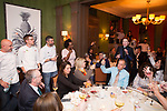 New York, NY - March 12, 2018: Chef Carl Schaubhut of DTB in New Orleans presents dinner in homage to Commanders Palace at The James Beard House.<br /> <br /> CREDIT: Clay Williams for The James Beard Foundation.<br /> <br /> &copy; Clay Williams / http://claywilliamsphoto.com