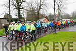 Kerry Crusaders Cyclying Event : The start of  the Kerry Crusaders cycle around North Kerry & West Limerick on Sunday last.