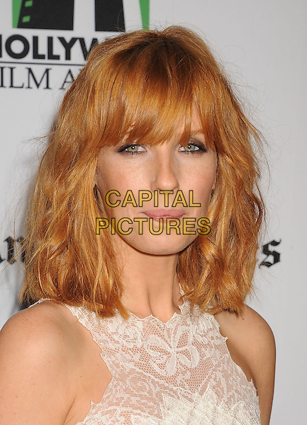 Kelly Reilly.16th Annual Hollywood Film Awards Gala held at the Beverly Hilton Hotel, Beverly Hills, California, USA..October 22nd, 2012.headshot portrait white lace sleeveless .CAP/ROT/TM.©Tony Michaels/Roth Stock/Capital Pictures