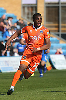 Fejiri Okenabirhie of Shrewsbury Town during Gillingham vs Shrewsbury Town, Sky Bet EFL League 1 Football at The Medway Priestfield Stadium on 13th April 2019