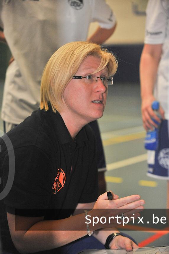 BT Basket Kortrijk Dames  : coach Ingrid Dreesen<br /> foto VDB / Bart Vandenbroucke