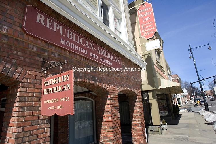TORRINGTON, CT. 29 February 2008-022908SV15--The Republican-American office in Torrington.<br /> Steven Valenti Republican-American