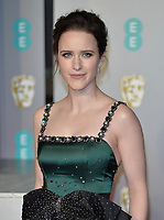 LONDON, UK - FEBRUARY 10: Rachel Brosnahan at the 72nd British Academy Film Awards held at Albert Hall on February 10, 2019 in London, United Kingdom. <br /> CAP/MPIIS<br /> ©MPIIS/Capital Pictures