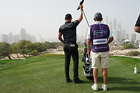 Matt Wallace (ENG) in action during the first round of the Omega Dubai Desert Classic, Emirates Golf Club, Dubai, UAE. 24/01/2019<br /> Picture: Golffile | Phil Inglis<br /> <br /> <br /> All photo usage must carry mandatory copyright credit (&copy; Golffile | Phil Inglis)