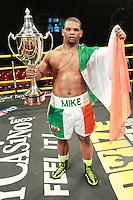 Mike Perez beats Tye Fields in Prizefighter International Heavyweights final at Alexandra Palace, promoted by Matchroom Sports - 07/05/11 - MANDATORY CREDIT: Chris Royle