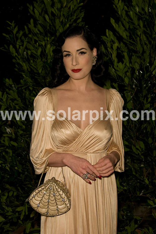 **ALL ROUND PICTURES FROM SOLARPIX.COM**.**SYNDICATION RIGHTS FOR UK, SPAIN, PORTUGAL, AUSTRALIA, S.AFRICA & DUBAI (U.A.E) ONLY**.the Grand Opening of Catherine Malandrino Maison in West Hollywood, California, USA. 20th October 2008..This pic: Dita Von Teese..JOB REF: 7646 PHZ (Hatcher)   DATE: 20_10_2008.**MUST CREDIT SOLARPIX.COM OR DOUBLE FEE WILL BE CHARGED* *UNDER NO CIRCUMSTANCES IS THIS IMAGE TO BE REPRODUCED FOR ANY ONLINE EDITION WITHOUT PRIOR PERMISSION*