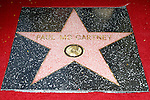 LOS ANGELES, CA - FEB 9: Paul McCartney's star at a ceremony where Paul McCartney is honored with a star on The Hollywood Walk Of Fame on February 9, 2012 in Los Angeles, California