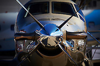 Pilatus PC 12/45 single engine passenger aircraft