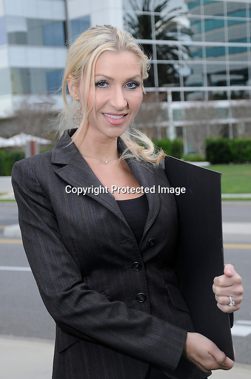 Working Woman in Business Man and woman in conference on corporate jet