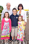 Pictured at the celebration of the Golden Jubillee of the Church of the Holy Spirit, Muckross on Friday night were Mike, Maria, Elisha, Jack and Kerriann Hanrahan, Killarney.