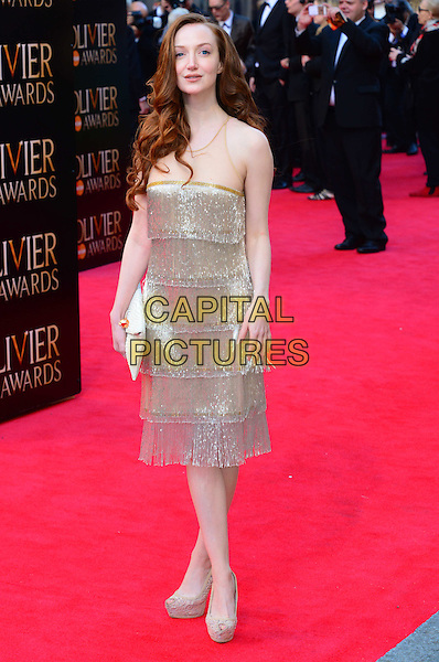 LONDON, ENGLAND - APRIL 13:  Olivia Grant attends The Olivier Awards, the illustrious ceremony celebrating the very best in English theatre, at Royal Opera House, Covent Garden, on April 13, 2014, in London, England.<br /> CAP/JOR<br /> &copy;Nils Jorgensen/Capital Pictures