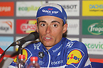 Enric Mas Nicolau (ESP) Quick-Step Floors wins Stage 20 of the La Vuelta 2018, running 97.3km from Andorra Escaldes-Engordany to Coll de la Gallina, Spain. 15th September 2018.                   <br /> Picture: Colin Flockton | Cyclefile<br /> <br /> <br /> All photos usage must carry mandatory copyright credit (© Cyclefile | Colin Flockton)