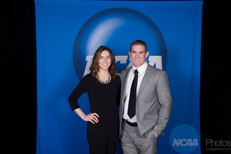 15 JAN 2016:  The NCAA Honor's Celebration takes place during the 2016 NCAA Convention at the Grand Hyatt San Antonio in San Antonio, TX.   Jamie Schwaberow/NCAA Photos  (Pictured:  Matt Brown)
