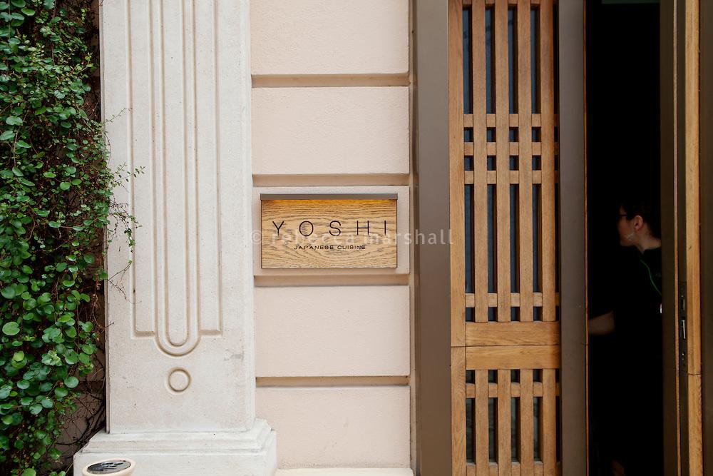 Yoshi restaurant at the Metropole Hotel, Monaco, 23 March 2012