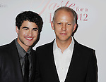 BEVERLY HILLS, CA - APRIL 20: Darren Criss and Ryan Murphy attend the Jonsson Cancer Center Foundation's 17th Annual Taste For A Cure Gala held at the Beverly Wilshire Four Seasons Hotel on April 20, 2012 in Beverly Hills, California.