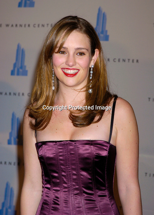 Jillian Hearst..at the grand opening of the Time Warner Center in New York City on February 4, 2004. Photo by Robin Platzer, Twin Images