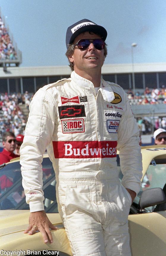 Rick Mears IROC race at Daytona International Speedway on February 1989.  (Photo by Brian Cleary/www.bcpix.xom)
