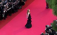 Pix:Ben Duffy/SWpix...Cannes Film Festival 2001...08/05/2001..COPYRIGHT PICTURE>>SIMON WILKINSON..The premier of 'Moulin Rouge' gets under way at the Palais de Festival, the first of the 2001 Cannes Film festival, as one of the stars, Nicole Kidman walks down the famous red carpet