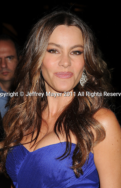 WEST HOLLYWOOD, CA - SEPTEMBER 16: Sofia Vergara attends the 63rd Annual Emmy Awards Performers Nominee Reception held at the Pacific Design Center on September 16, 2011 in West Hollywood, California.