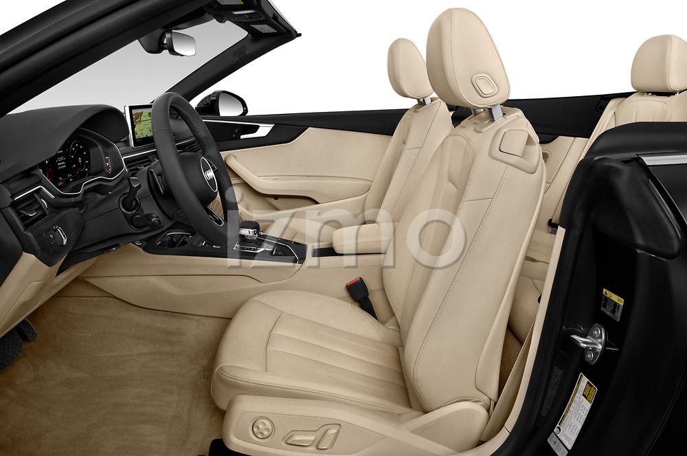 Front seat view of 2019 Audi A5-Cabriolet Premium-Plus 2 Door Convertible Front Seat  car photos