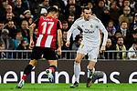 Gareth Bale of Real Madrid and Yuri Berchiche of Athletic Club during La Liga match between Real Madrid and Athletic Club de Bilbao at Santiago Bernabeu Stadium in Madrid, Spain. December 22, 2019. (ALTERPHOTOS/A. Perez Meca)