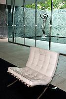 Spanien, Barcelona, deutscher Weltausstellungspavillon erbaut 1929 von Mies van der Rohe