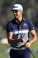 Rafa Cabrera-Bello (ESP) on the 6th green at Pebble Beach course during Friday's Round 2 of the 2018 AT&amp;T Pebble Beach Pro-Am, held over 3 courses Pebble Beach, Spyglass Hill and Monterey, California, USA. 9th February 2018.<br /> Picture: Eoin Clarke | Golffile<br /> <br /> <br /> All photos usage must carry mandatory copyright credit (&copy; Golffile | Eoin Clarke)