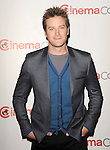 "Armie Hammer at the ""Walt Disney CinemaCon Photo Op"" held at the Caesar's Palace Las Vegas on April 17, 2013"