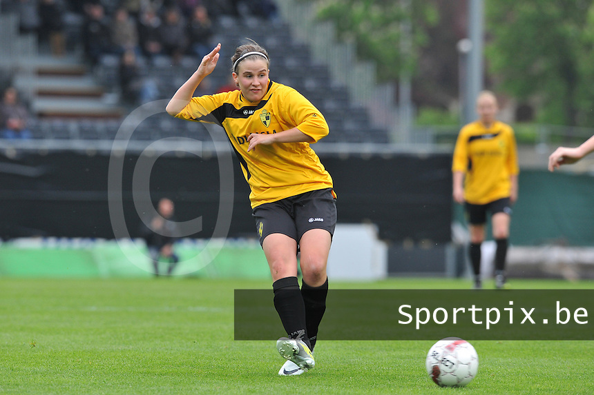 Bekerfinale 2012 : WD Lierse SK - Standard Femina :.Marlies Verbruggen.foto David Catry / Joke Vuylsteke / Vrouwenteam.be