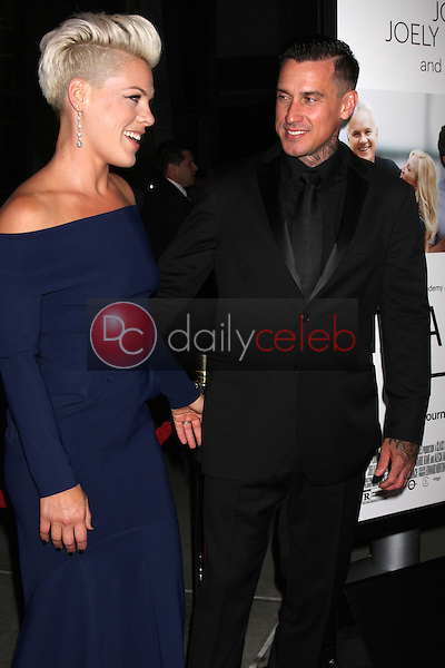 """Alecia Moore, Pink, Carey Hart<br /> at the """"Thanks For Sharing"""" Los Angeles Premiere, Arclight, Hollywood, CA 09-16-13<br /> David Edwards/Dailyceleb.com 818-249-4998"""