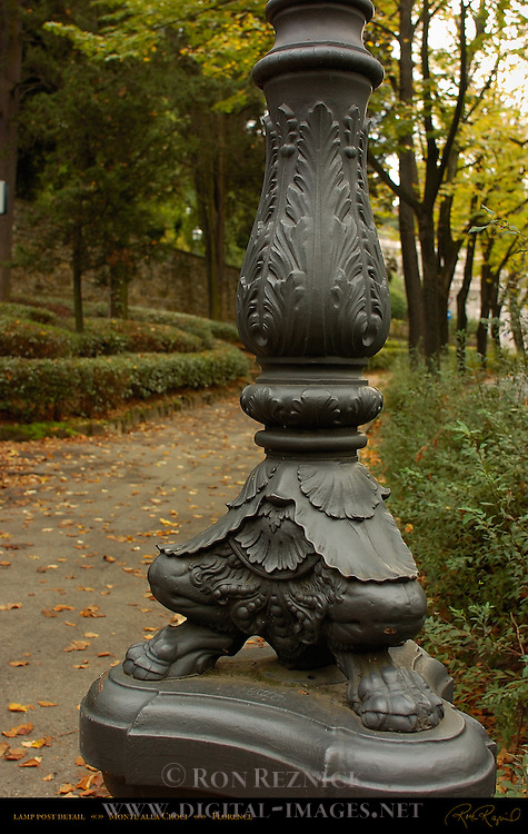 Satyr-Footed Lamp-Post Monte alla Croci Florence