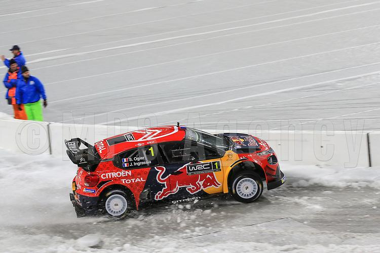 SEBASTIEN OGIER (FRA) CITROEN C3 WRC