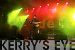 Delorentos playing on the Back to Basics, Rose of Tralee Street Festival at the Denny Street stage on Friday.