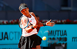 May 2019 Madrid Spain Mutua Madrid Open day 3 .Final Result 6-2 7-6 to Naomi Osaka Naomi Osaka of Japan in her match against Dominika Cibulkova of Slovakia during day three of the Mutua Madrid Open at La Caja Magica on May 05, 2019 in Madrid, Spain.