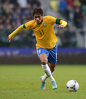 FUSSBALL   INTERNATIONAL   Testspiel    Japan - Brasilien          16.10.2012 NEYMAR (Brasilien) am Ball