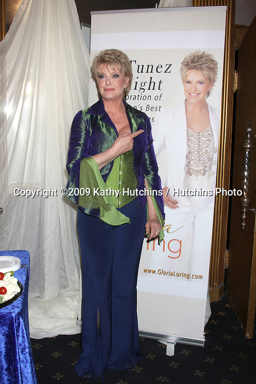 """Gloria Loring greeting guests after her Show """"TV Tunez Tonight"""" at the Henry Fonda Theater in Los Angeles, CA on  March 22,  2009 .©2009 Kathy Hutchins / Hutchins Photo...                ."""