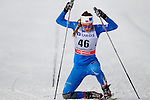 HOLMENKOLLEN, OSLO, NORWAY - March 17: Marte Monrad-Hansen of Norway (NOR) after finishing the Ladies 30 km mass start race, free technique, at the FIS Cross Country World Cup on March 17, 2013 in Oslo, Norway. (Photo by Dirk Markgraf)