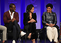 """HOLLYWOOD, CA - MARCH 24: Sterling K. Brown, Susan Kelechi Watson and Phylicia Rashad attend PaleyFest 2019 for 20th Century Fox Television's """"This is Us"""" at the Dolby Theatre on March 24, 2019 in Hollywood, California. (Photo by Frank Micelotta/20th Century Fox Television/PictureGroup)"""