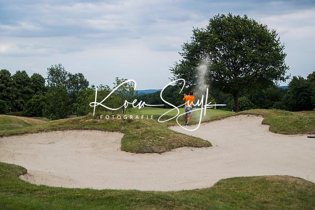 GROESBEEK - bunker Nijmeegse Baan hole 15.   Golfbaan Het Rijk van Nijmegen. COPYRIGHT  KOEN SUYK