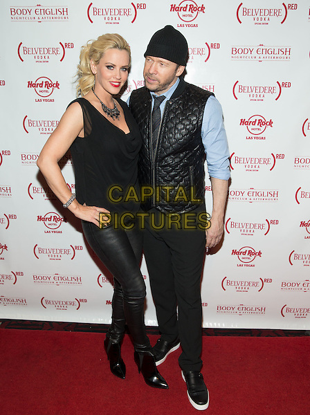 LAS VEGAS, NV - NOVEMBER 30 : Jenny McCarthy and Donnie Wahlberg pictured as Jenny McCarthy hosts her official Dirty, Sexy, Funny after party at Body English Nightclub &amp; Afterhours at Hard Rock Hotel &amp; Casino Las Vegas on November 30, 2013 in Las Vegas, NV., USA.<br /> CAP/MPI/SLP/KAB<br /> &copy;Kabik/Starlitepics/MediaPunch/Capital Pictures