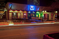 The Warehouse District offers many nightlife options in downtown Austin. The Warehouse District - Home to trendy restaurants, top-notch live music, and distinctive bars in downtown Austin, Texas, USA