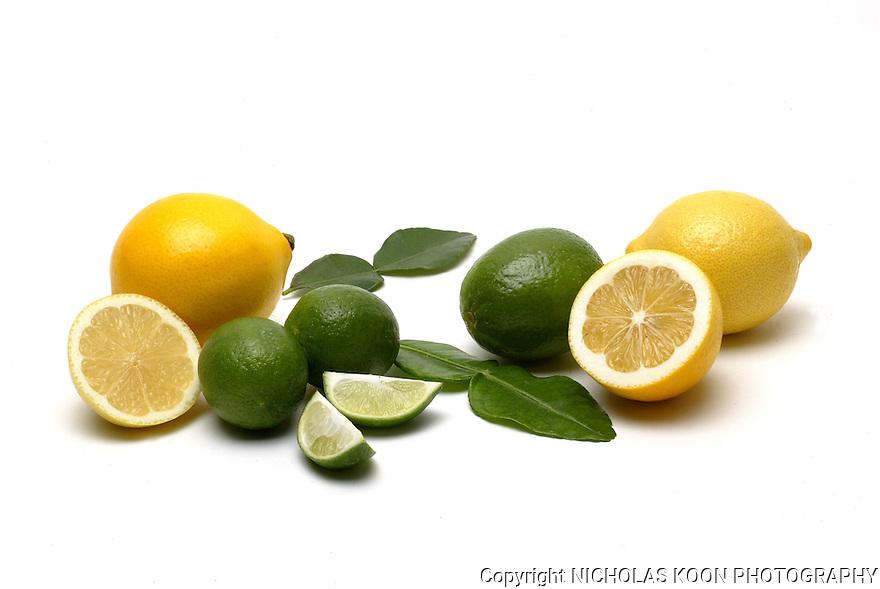 Lemons and Limes still life.