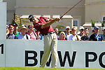 James Kingston tees off from the 1st tee to start  Round 3 of the BMW PGA Championship at  Wentworth, Surrey, England, 22nd May 2010...Photo Golffile/Eoin Clarke.(Photo credit should read Eoin Clarke www.golffile.ie)....This Picture has been sent you under the condtions enclosed by:.Newsfile Ltd..The Studio,.Millmount Abbey,.Drogheda,.Co Meath..Ireland..Tel: +353(0)41-9871240.Fax: +353(0)41-9871260.GSM: +353(0)86-2500958.email: pictures@newsfile.ie.www.newsfile.ie.
