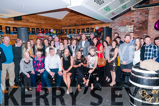 40th Biryhday : Geraldine Flavin, Ballyconry, Liselton celebrating her 40th birthday with family & friends at The Irish American Bar, Ballybunion on Saturday night last