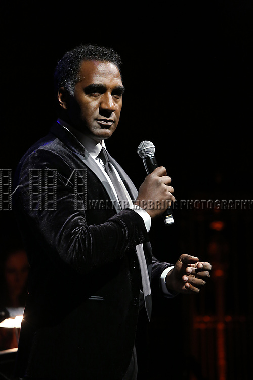 Norm Lewis on stage at the  2017 Dramatists Guild Foundation Gala presentation at Gotham Hall on November 6, 2017 in New York City.