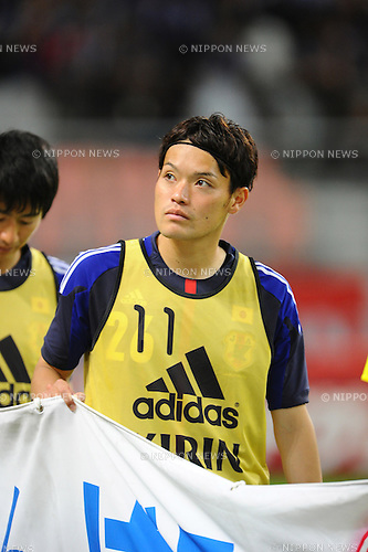 Keigo Higashi (JPN),<br /> MAY 30, 2013 - Football / Soccer :<br /> Keigo Higashi of Japan after the Kirin Challenge Cup 2013 match between Japan 0-2 Bulgaria at Toyota Stadium in Aichi, Japan. (Photo by AFLO)