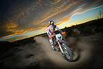 BAJA CALIFORNIA, MEXICO - NOVEMBER 15:  Ivan Ramirez of of the FMF/Bonanza Plumbing KTM team races during the 2013 SCORE Baja 1000 on November 15, 2013 in Baja California, Mexico. (Photo by Donald Miralle for ESPN the Magazine) *** Local Caption ***Ivan Ramirez
