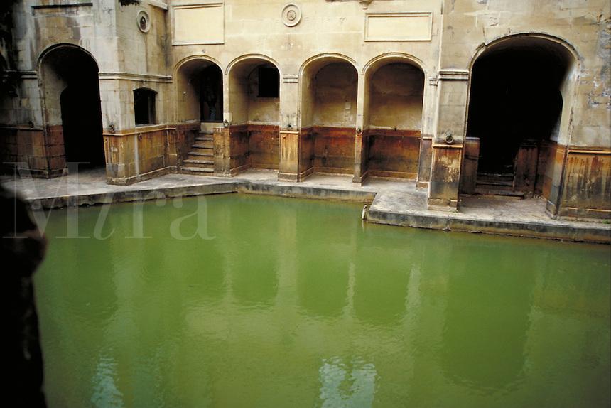 Bath, England. architecture, ancient civilizations, structures, roman bath. England.
