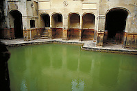 Bath, England. architecture, ancient civilizations, structures, roman bath. England.
